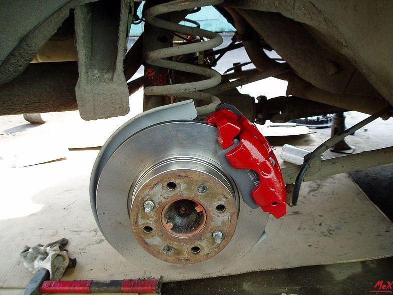 Задние дисковые тормоза ваз 2106 своими руками