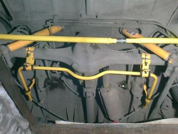 Задний стабилизатор поперечной устойчивости ваз 2101 своими руками