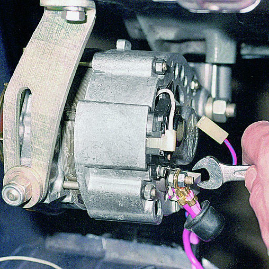 ваз 2106 схема подключения генератора с ваз 2107
