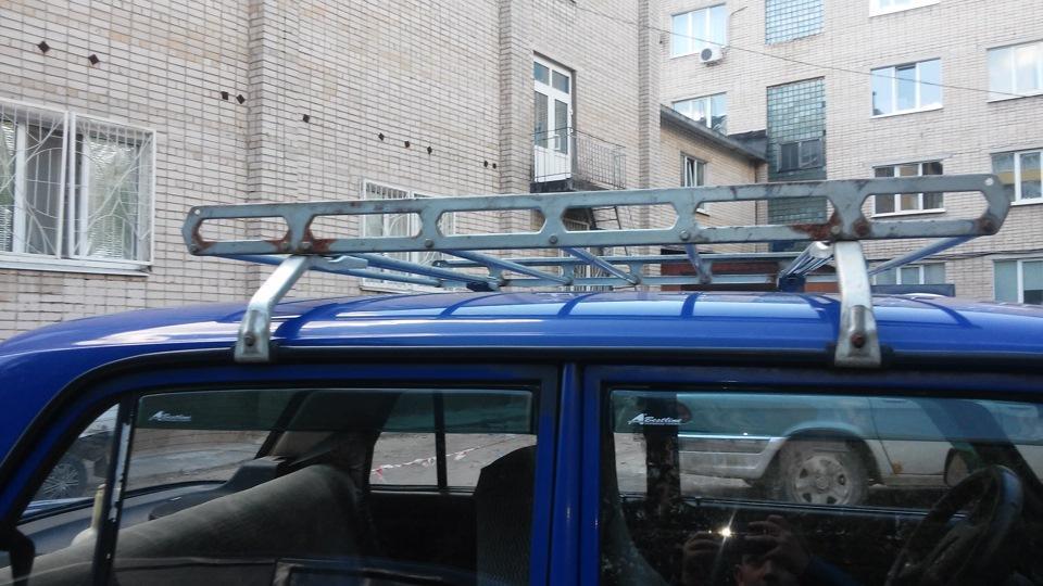Открытый багажник на крышу Ваз