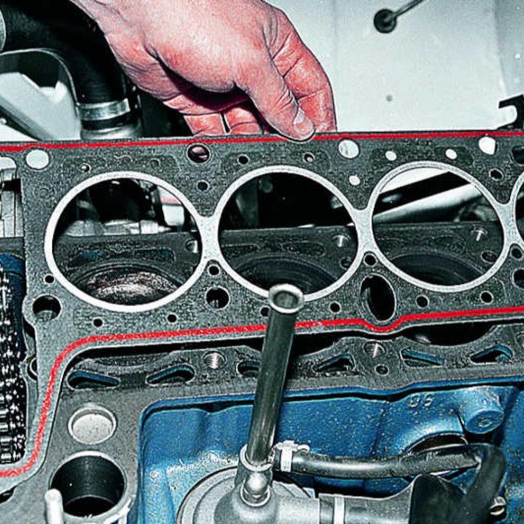 Инструкция по снятию и ремонту головки блока цилиндров на автомобиле ВАЗ 2107