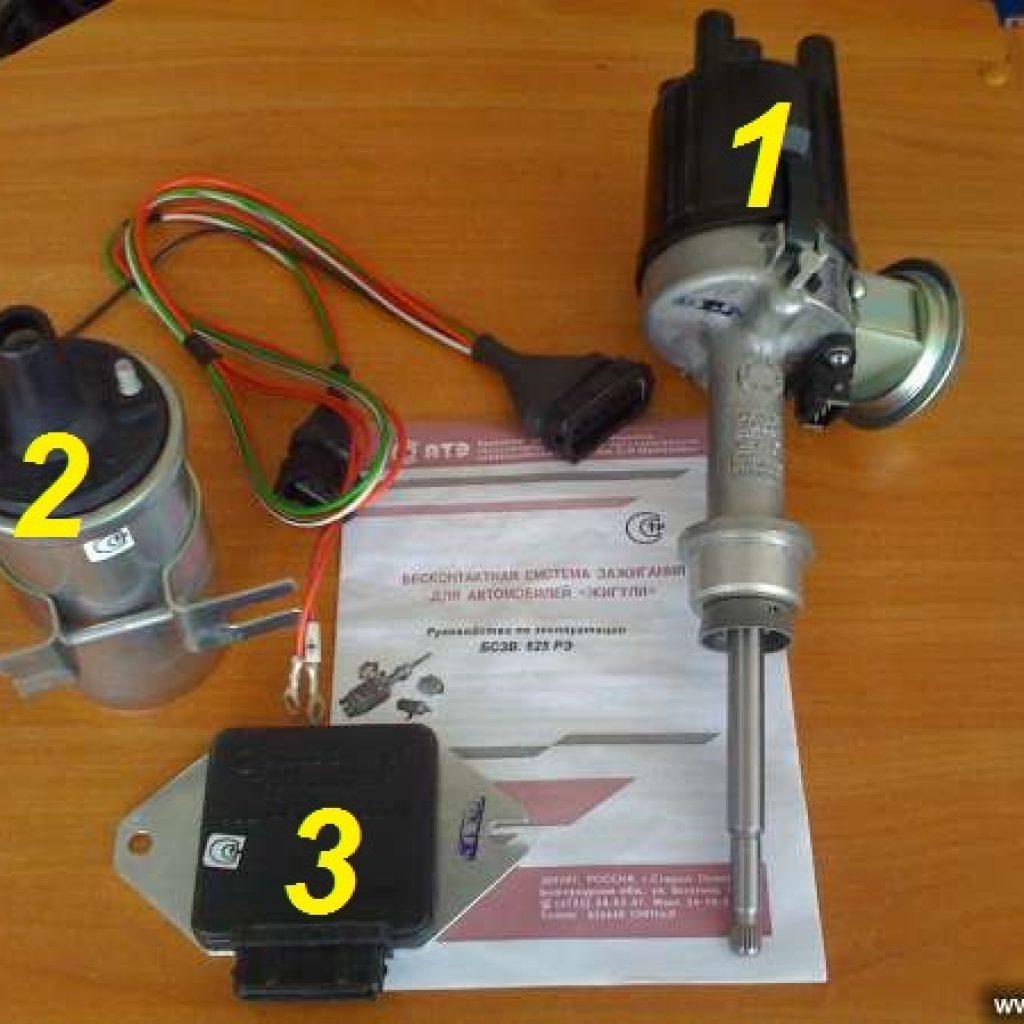 Установка и схема подключения БСЗ электронного модуля бесконтактного зажигания ВАЗ 2107 инжектор и карбюратор инструкции с фото и видео
