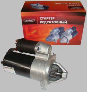Щеточный узел редукторного стартера ваз 2107