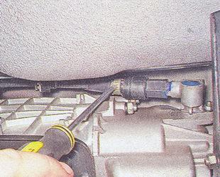 замена датчика скорости ваз 2107